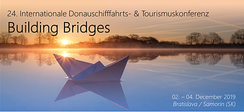 Register now! 24th Danube Shipping and Tourism Conference / Bratislava - Samorin